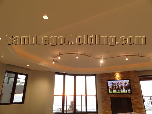 oval and round walls / Flexible molding