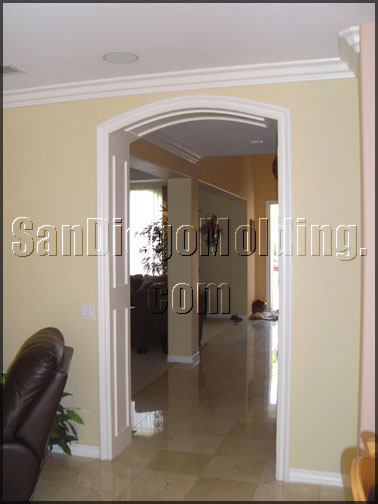 San Diego Molding Headers And Doorways